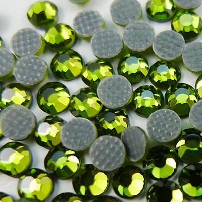 cf78103d81f4a Hotfix 3mm Rhinestones in Lime Green by ThreadNanny